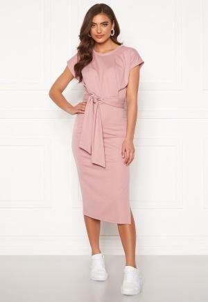 Bubbleroom Tea soft tie dress