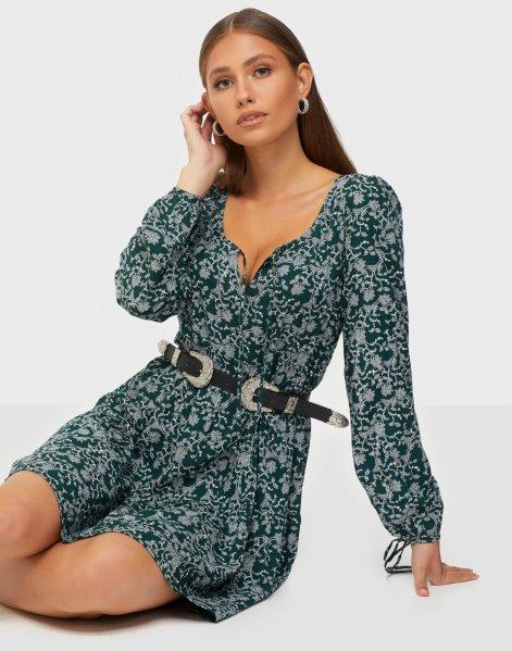 NLY Trend Tie Sleeve Boho Dress
