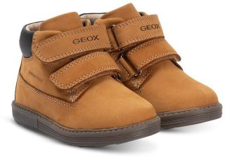 Tan Hynde Leather Waterproof Velcro Boots