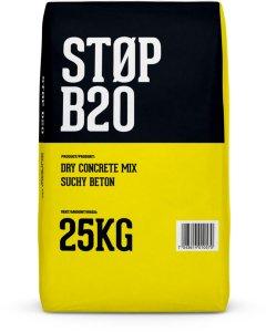 Optimera Tørrbetong B20 25 kg