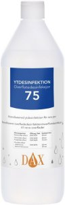 Overflatedesinfeksjon 75% 1L