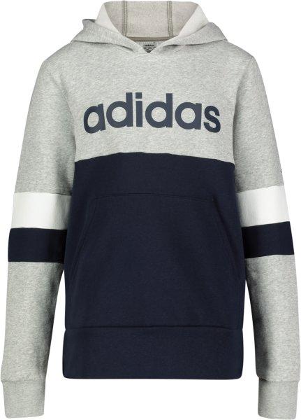 Adidas Linear Colorblock Hooded Fleece