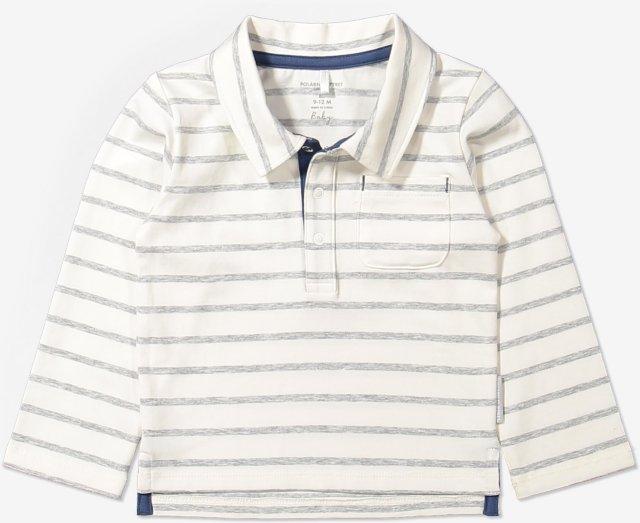 Polarn O. Pyret Stripe genser med krage