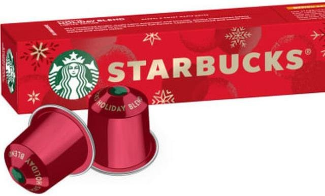 Nespresso Starbucks Holiday Blend kapsler