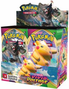 Pokémon Sword & Shield: Vivid Voltage Booster Display 36-pk