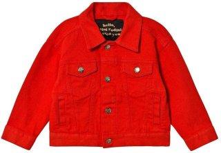 Mini Rodini Denim Twill Teddybear Jacket