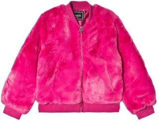 Guess Faux Fur Bomber Jacket
