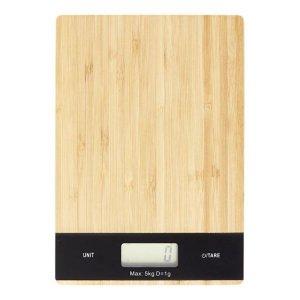 DAY Digital kjøkkenvekt bambus