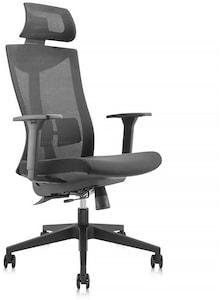Ergo High Back kontorstol med nakkestøtte