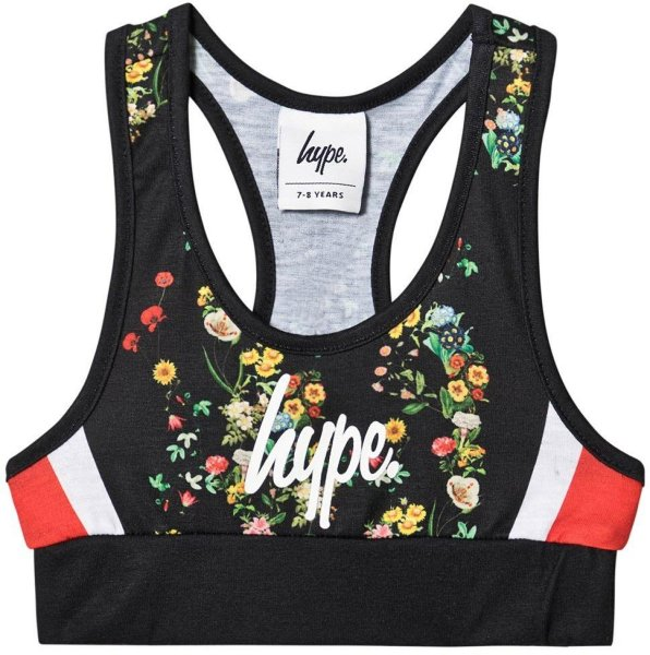 Hype Ditsy Blomstrete Sports-BH