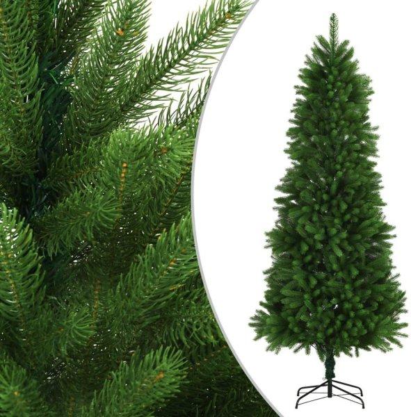 VidaXL Kunstig juletre livaktige nåler 240cm grønn