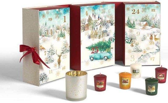 Yankee Candle adventskalender bok