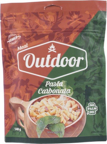 Outdoor Meal Pasta Carbonara