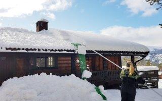 Snømåker for Tak (SM530-V2)