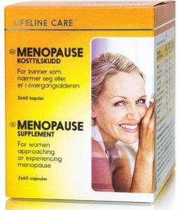 Menopause kosttilskudd