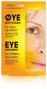 Øye kosttilskudd