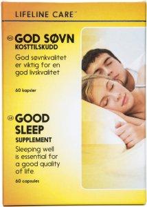 God Søvn kosttilskudd