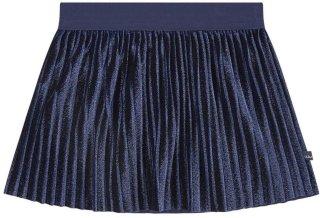 IKKS Velvet pleated skirt
