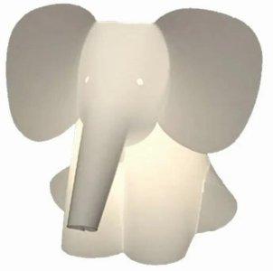 Zoolight elefant vegglampe