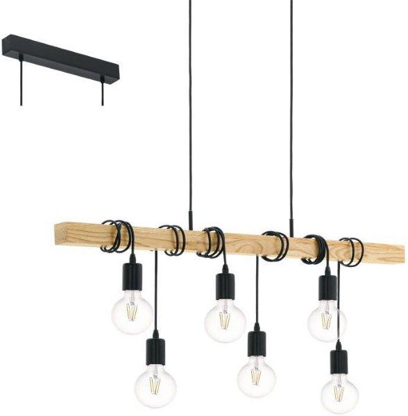 Eglo Townshend langbordspendel 6 lyspærer