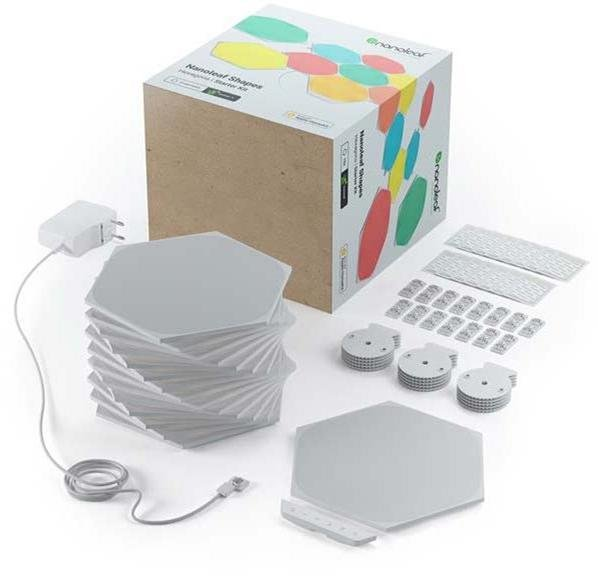 Nanoleaf Shapes Hexagons Starter Kit (15-pk)