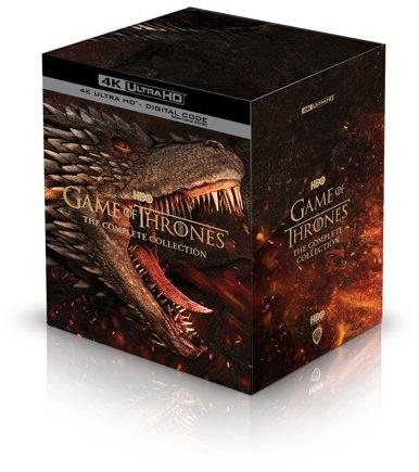 HBO Game Of Thrones Complete Collection (4K Blu Ray)