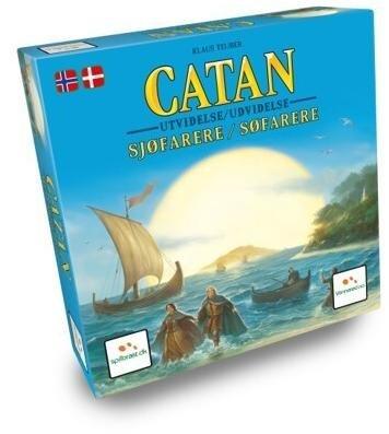 Catan Sjøfarere 3-4 spillere