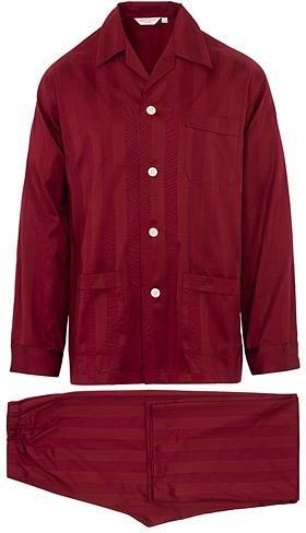 Derek Rose Cotton Satin Pyjama Set