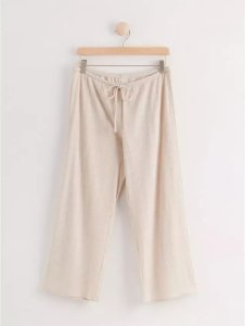 Ribbestrikket pyjamasbukse