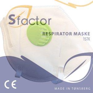 FFP3 Respirator masks with valve (10 pk)