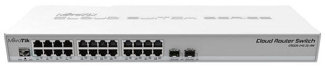 MikroTik Cloud Router Switch CRS326-24G-2S+RM