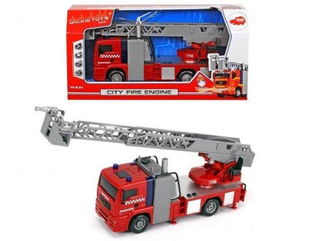 Dickie Toys Norwegian City Fire engine