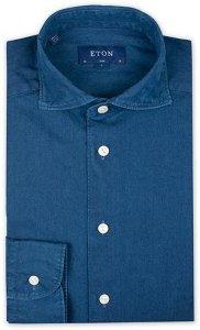 Slim Fit Twill Extreme Cutaway Shirt