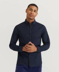 J.Lindeberg Skjorte Stretch Oxford Slim Shirt