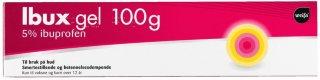 Ibux gel 50 mg/g 100 g