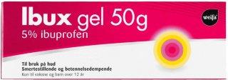 Ibux gel 50 mg/g 50 g