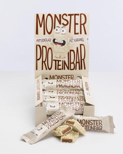 Monster Snacks Monster Premium Proteinbar 12x55g