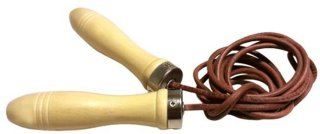 FitNord Leather Jump Rope