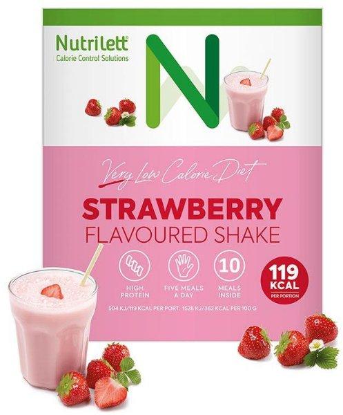 Nutrilett VLCD Jordbærshake (10 måltider)
