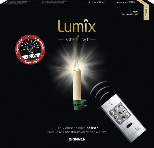 Krinner Lumix Superlight Juletrelys 12 LED lys