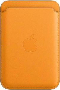 Lommebok i skinn med MagSafe