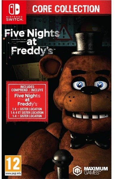 Five Nights at Freddy's: Core Collection til Switch
