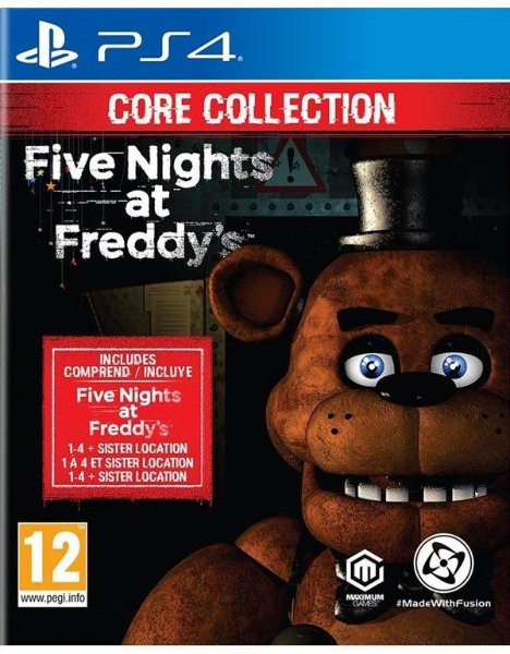 Five Nights at Freddy's: Core Collection til Playstation 4
