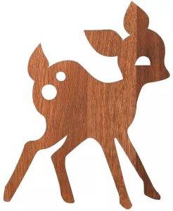 Deer vegglampe