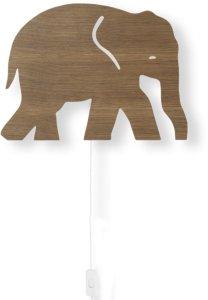 Elephant vegglampe