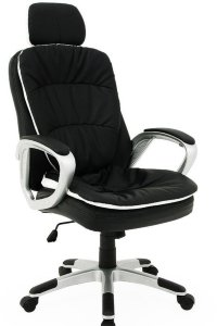 Komfort kontorstol med fleksibel hodestøtte