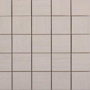 Casalgrande Padana Metalwood Platino Mosaico 6x6