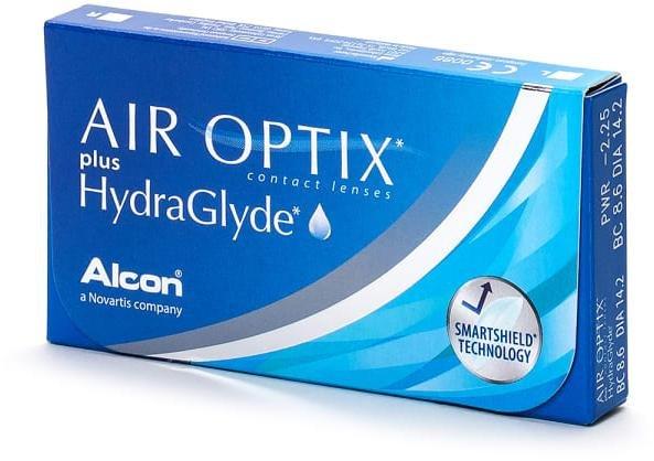 Alcon Air Optix plus HydraGlyde 3p