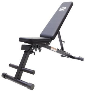 Master Fitness Black II Foldable Bench