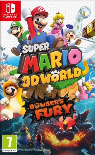 Super Mario 3D World + Bowser's Fury til Switch